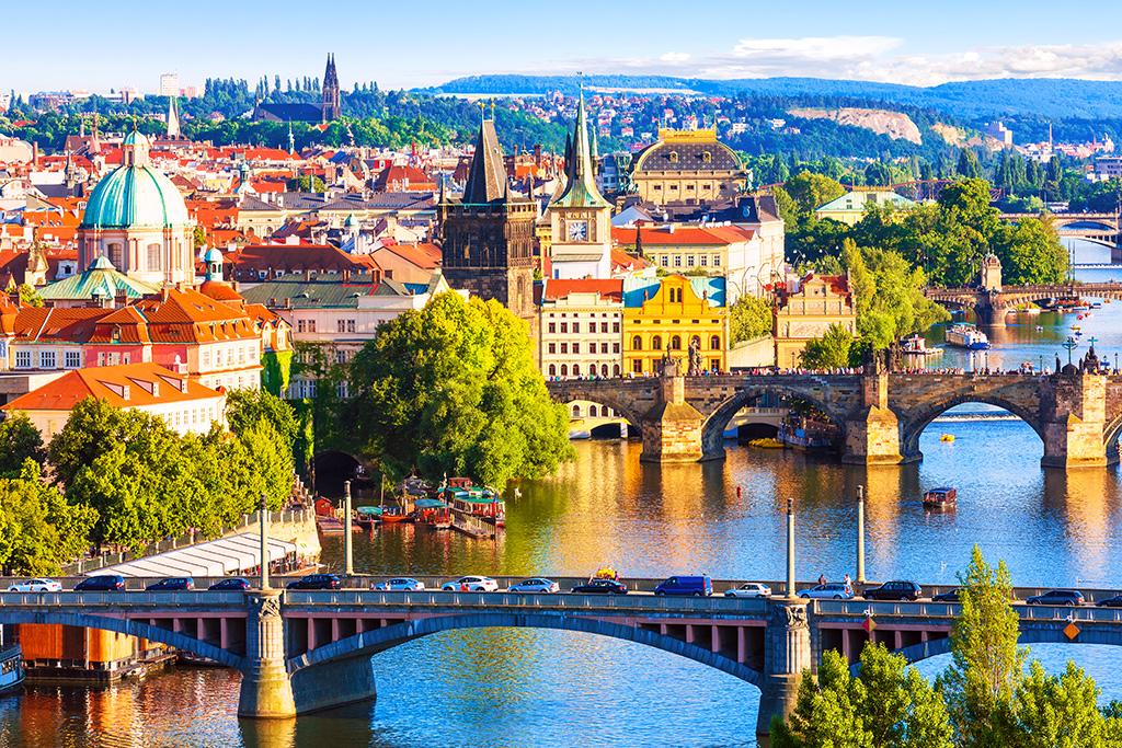 Весна в Праге!